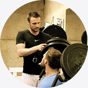 Valentin Bourrières, coach sportif et préparateur physique